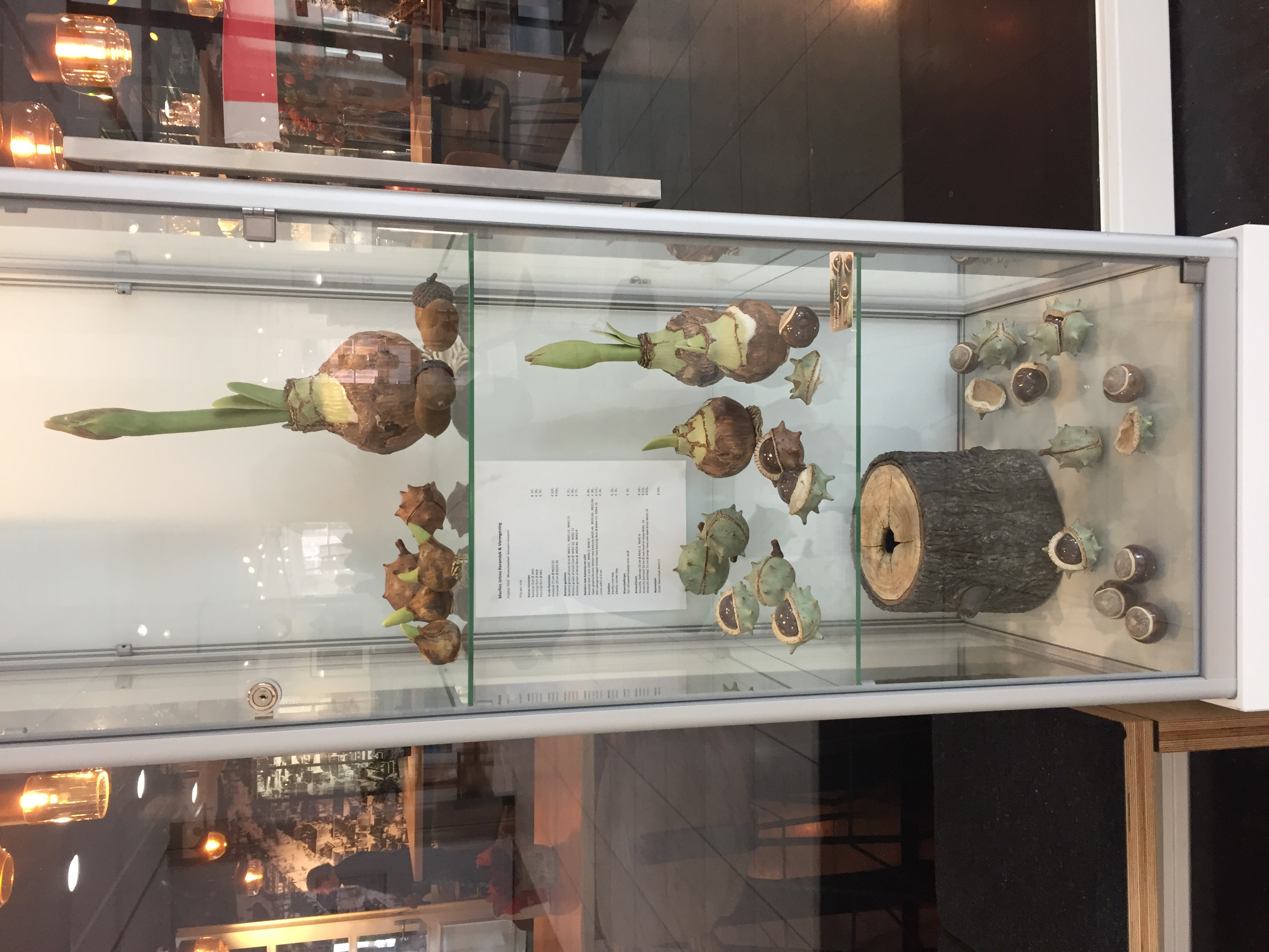 vitrine Gorcums Museum